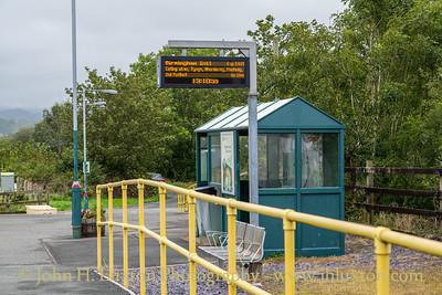 Cambrian Coast Line - Talsarnau Station - August 23, 2019