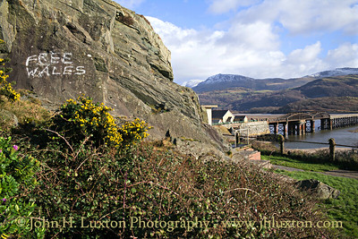 Cambrian Coast Line - Barmouth Bridge / Viaduct  - February 13, 2018