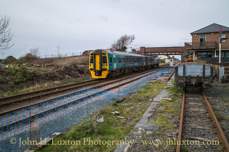 Cambrian Coast Line - Tywyn Wharf  - February 19, 2019