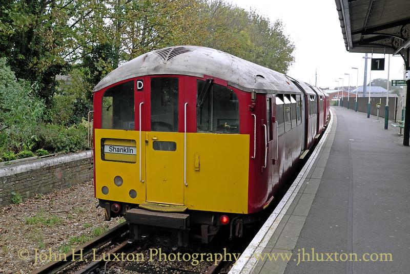 Isle of Wight Railway - Ryde Rail - October 25, 2012