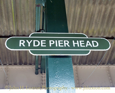 Isle of Wight Railway - Ryde Rail - April 08, 2012