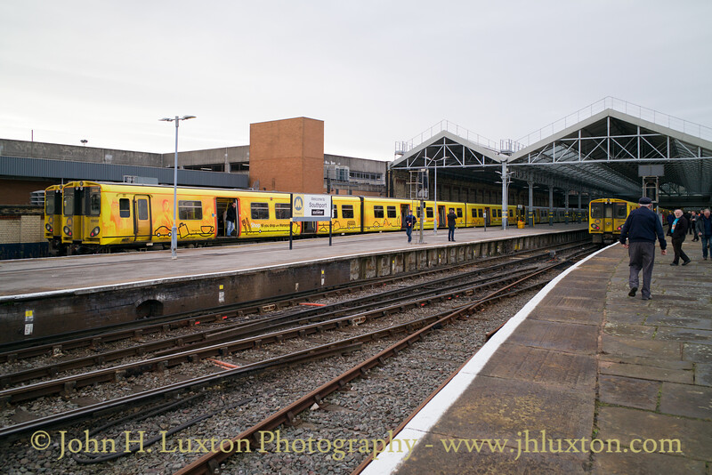 Merseyrail - Southport Chapel Station - November 19, 2017