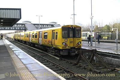 Merseyrail - Hooton Station - February 07, 2016