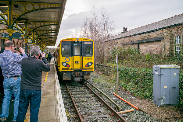 Ormskirk Station, Lancashire - January 26, 2020