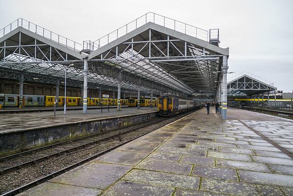 Southport Chapekl Street Station, Merseyside - January 26, 2020