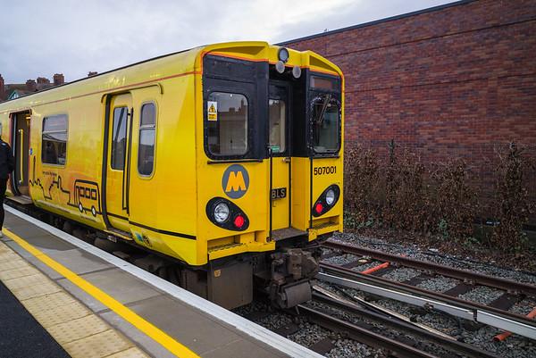 West Kirby Station, Wirral, Merseyside - January 26, 2020