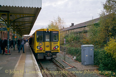 Merseyrail - Ormskirk Station - November 19, 2017