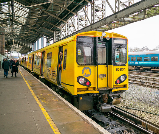 Chester General Station, Chester, Cheshire - January 26, 2020