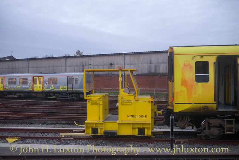 Merseyrail - Kirkdale Depot - November 19, 2017