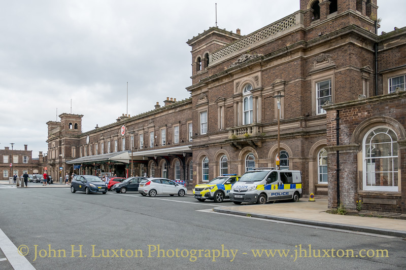 Chester General Station, Cheshire, England - July 24, 2021