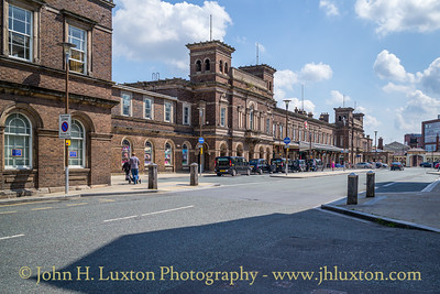 Chester General Station, Cheshire, England - August 04, 2021