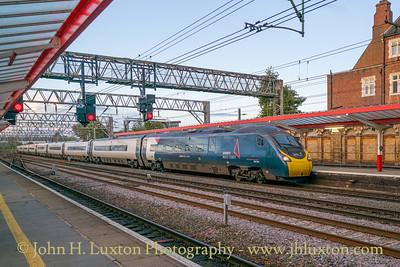 Crewe Station, Cheshire - October 03, 2021