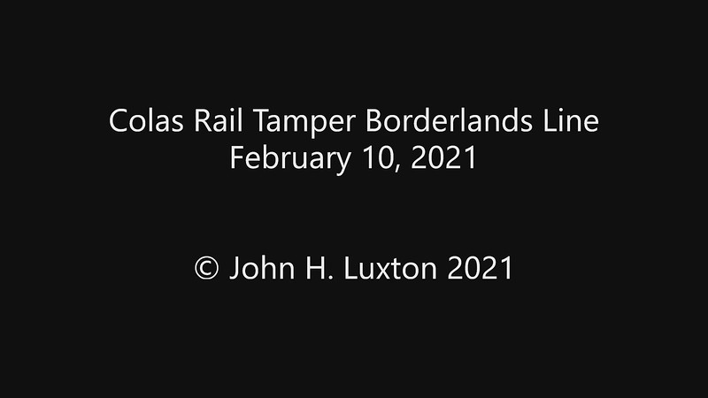 Colas Tamper - Borderlands Line - 100221_mp4