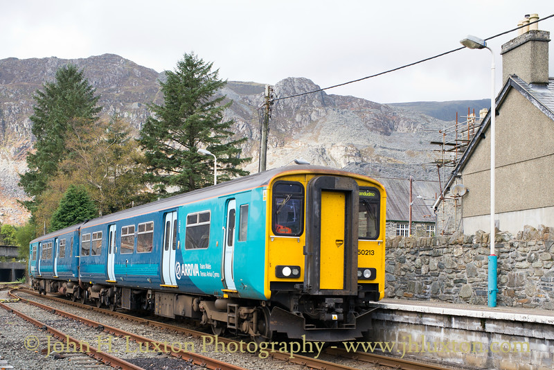 The Conwy Valley Line - October 16, 2016