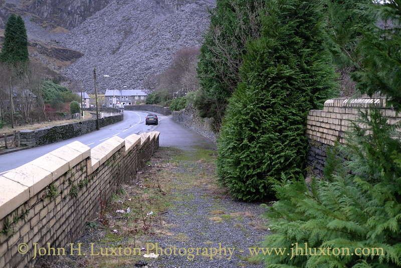 The Conwy Valley Line - December 30, 2012