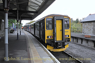 The Tamar Valley Line - October 28, 2015
