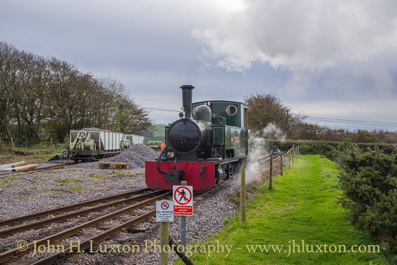 Lynton and Barnstaple Railway, October 28, 2019