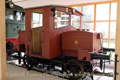 Flåmsbana Museum - battery shunting locomotive - photographed on Monday August 06, 2012.