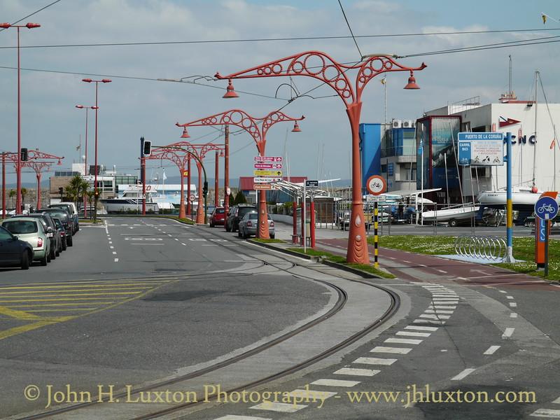 La Coruña Tramway - April 12, 2010