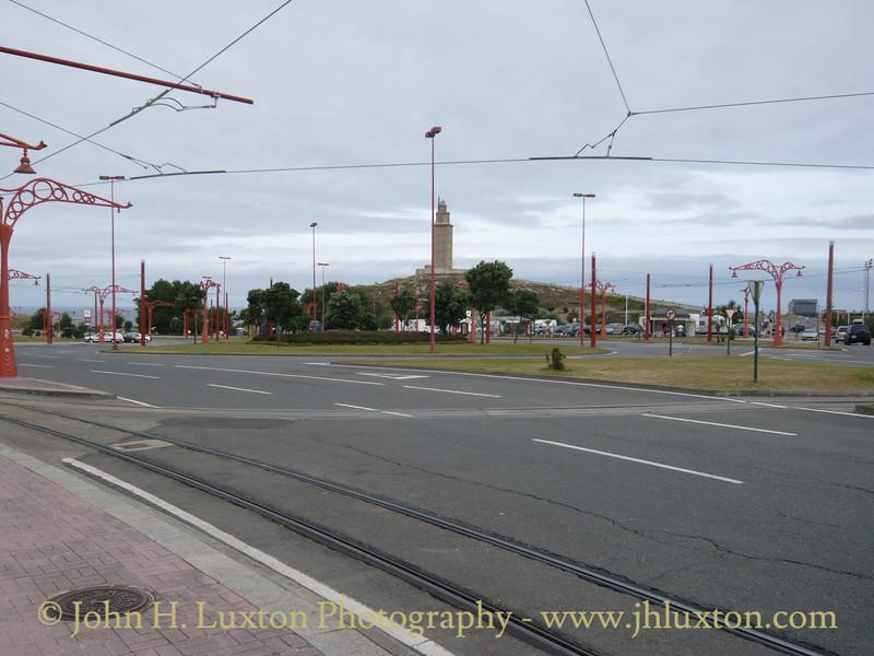 La Coruña Tramway - August 01, 2010
