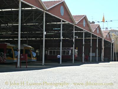 Lisbon Carris Tramway Museum - August 2010