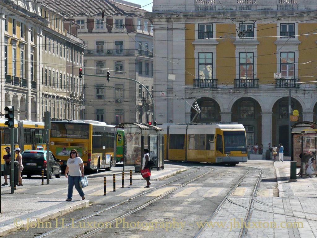 Lisbon Tramways (Companhia Carris de Ferro de Lisboa) - August 04, 2010