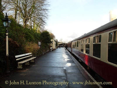 Bodmin and Wenford Railway - December 26, 2009
