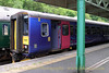 Okehampton to Exeter Central - Sunday May 24, 2014: First Great Western unit 153377 preparing to depart Okehampton for Exeter Central.