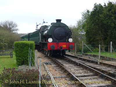 Isle of Wight Steam Railway - April 12, 2009