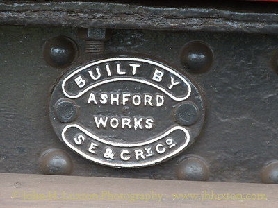 Builders plate - carraige - Isle of Wight Steam Railway - April 08, 2012