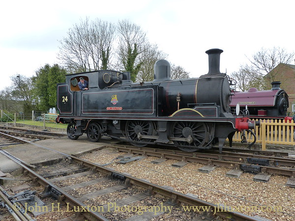 Isle of Wight Steam Railway - April 08, 2012
