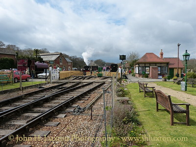 Haven Street Station, Isle of Wight, April 08, 2012