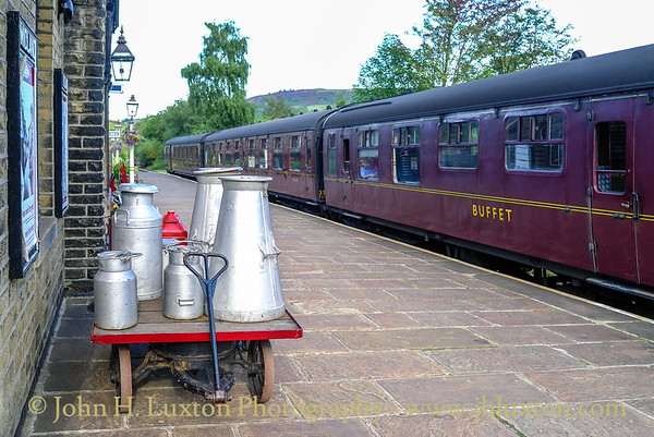 Keighley and Worth Valley Railway - August 22, 2011