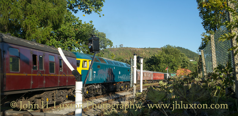 Llangollen Railway - Diesel Gala - September 29, 2018