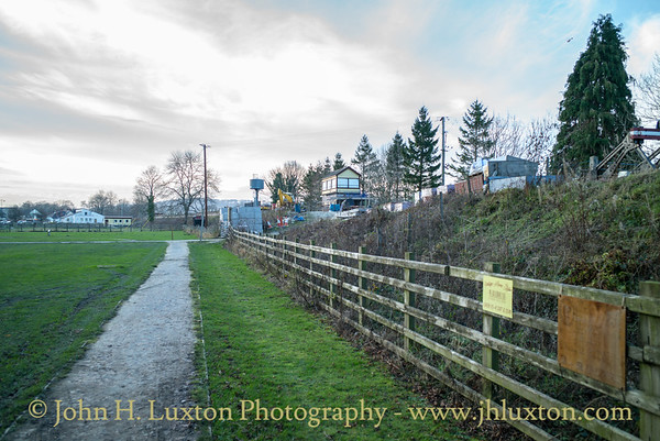 Llangollen Railway - Corwen Central Station - December 14, 2018