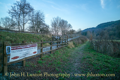 Llangollen Railway - Corwen East Station - December 14, 2018