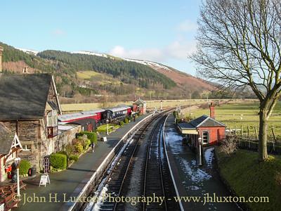 Llangollen Railway - January 17, 2010