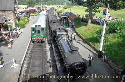Llangollen Railway 1960s Gala; July 26, 2014