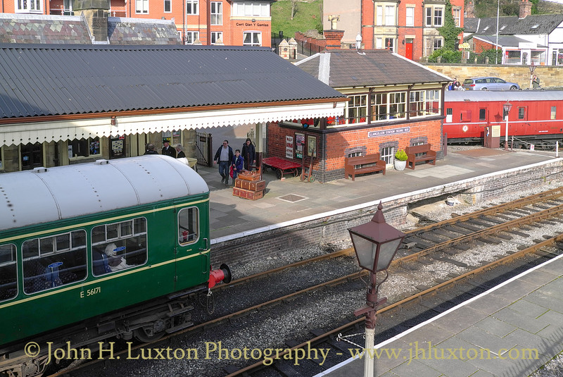 Llangollen Station, March 08, 2014