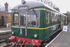 Wickham Railcar at Carrog on the 14:10 to Llangollen - March 08, 2014