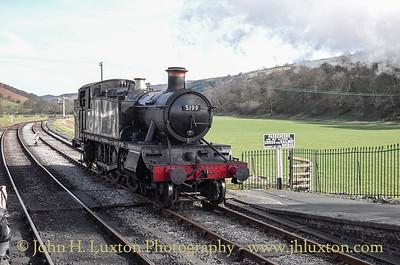 Llangollen Railway - March 25, 2016