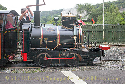 The Great Laxey Mine Railway - July 29, 2017