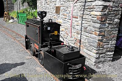 The Great Laxey Mine Railway - 2015