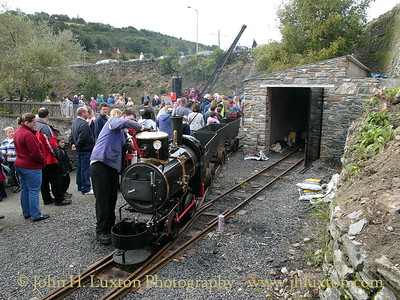 The Great Laxey Mine Railway - 2004