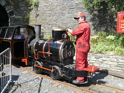 The Great Laxey Mine Railway - 2007