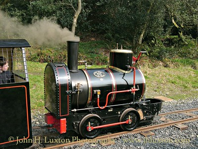 The Great Laxey Mine Railway - 2005