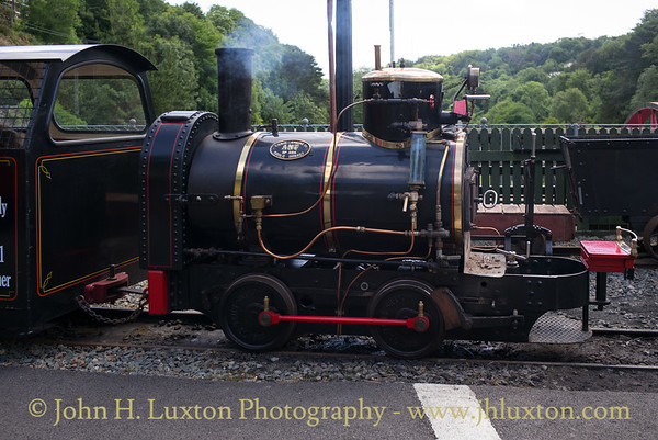 The Great Laxey Mine Railway - June 16, 2018