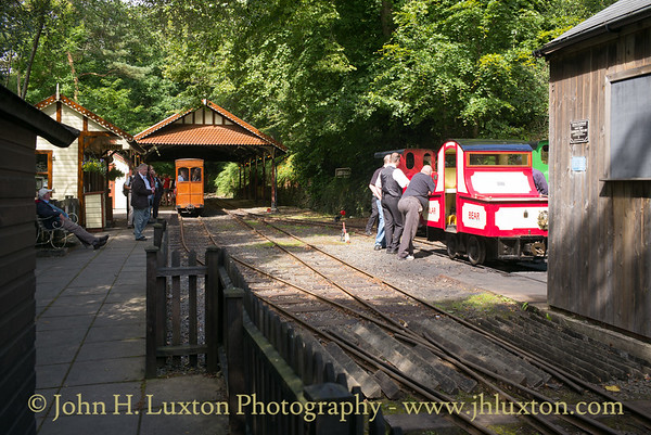 The Groudle Glen Railway - July 30, 2017