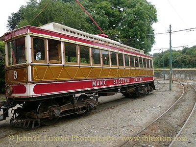 The Manx Electric Railway - 2005