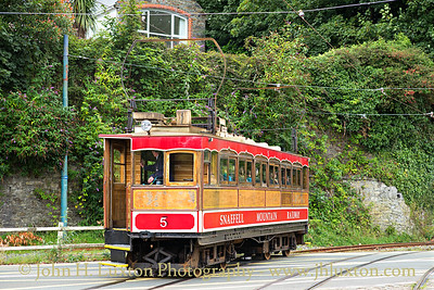 The Snaefell Mountain Railway - July 30, 2017